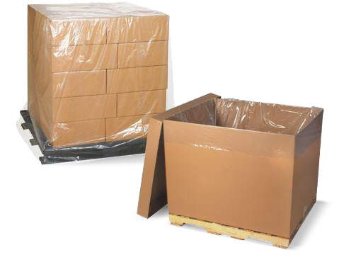 Clear Pallet Cover - Gaylord Liner