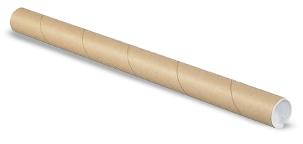 Mailing Tubes with Caps