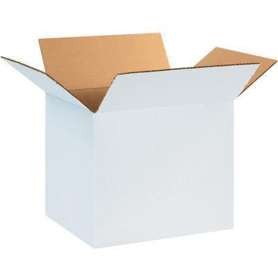 "12"" x 8"" x 8"" - thru - 24"" x 24"" x 24"" - White Corrugated Boxes, 25/bundle unless noted-White Corrugated Boxes-Lamar Packaging Supplies Inc"