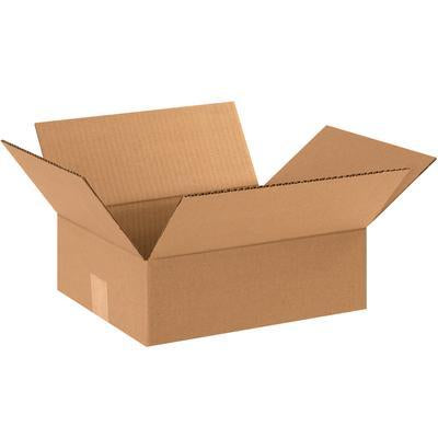 "12"" x 10"" x 4"" - thru - 12"" x 12"" x 18"" - Corrugated Boxes 25/bundle-Standard Corrugated Boxes-Lamar Packaging Supplies Inc"