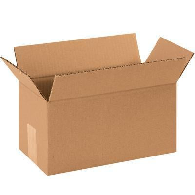 "12"" x 4"" x 4"" - thru - 12"" x 9"" x 12"" - Corrugated Boxes 25/bundle-Standard Corrugated Boxes-Lamar Packaging Supplies Inc"