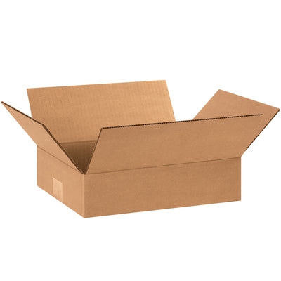"12"" x 3"" x 3"" - thru - 12"" x 9"" x 12"" - Corrugated Boxes 25/bdl"