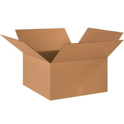 "18"" x 18"" x 4"" - thru - 19"" x 19"" x 19"" - Corrugated Boxes-Standard Corrugated Boxes-Lamar Packaging Supplies Inc"