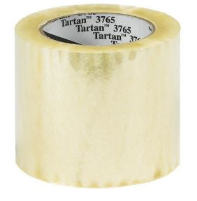 "3 M 3765 4"" x 145 yd Label Protection Tape 1.5 mil - (12 rolls per case)-Lamar Packaging Supplies Inc"