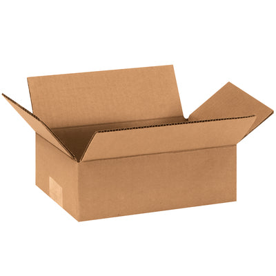"9"" x 4"" x 3"" - thru - 9"" x 9"" x 48"" - Corrugated Boxes 25/bdl, unless noted"