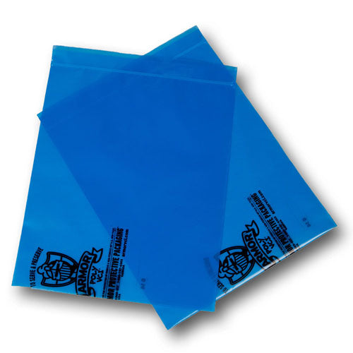"Item 14530 - 12""x15"" 4mil VCI Reclosable Bags 500 per case-Lamar Packaging Supplies Inc"