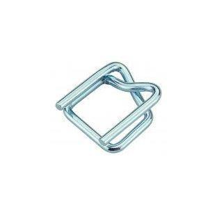 "Heavy Duty Galvanized 3/4"" Cord Strap Wire Buckles-Lamar Packaging Supplies Inc"