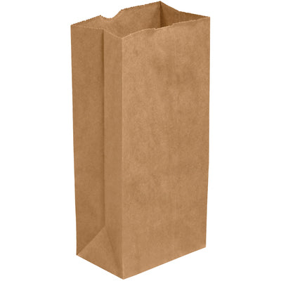 "5lb 5-1/4 x 3-7/16 x 10-5/16"" Kraft Hardware Bags-Hardware Bags-Lamar Packaging Supplies Inc"