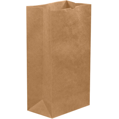"20lb 8- 1/4 x 5- 5/16 x 16- 1/8"" Kraft Hardware Bags-Hardware Bags-Lamar Packaging Supplies Inc"
