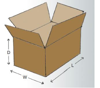 "28 x 17 x 5"" Flat Corrugated Boxes-28x17x5-Lamar Packaging Supplies Inc"