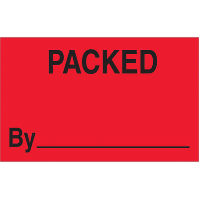 "Production Labels - 500/roll - 1-1/4"" x 2""-Lamar Packaging Supplies Inc"