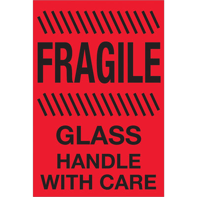 Special Handling FRAGILE Labels - 500/roll-Lamar Packaging Supplies Inc