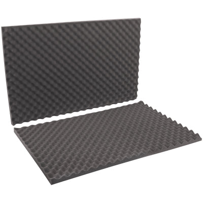 "24 x 36 x 2"" Charcoal Convoluted Foam Sets-Lamar Packaging Supplies Inc"