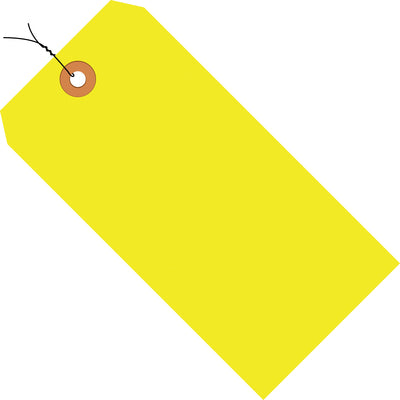 13 Pt. Fluorescent Shipping Tags PRE-WIRED-Lamar Packaging Supplies Inc
