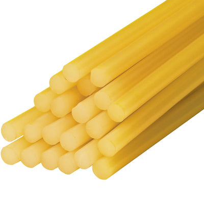 "1/2 x 15"" - Amber Glue Sticks (25#)-Lamar Packaging Supplies Inc"
