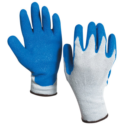 Rubber Coated Palm Gloves - 12pairs/box-Lamar Packaging Supplies Inc