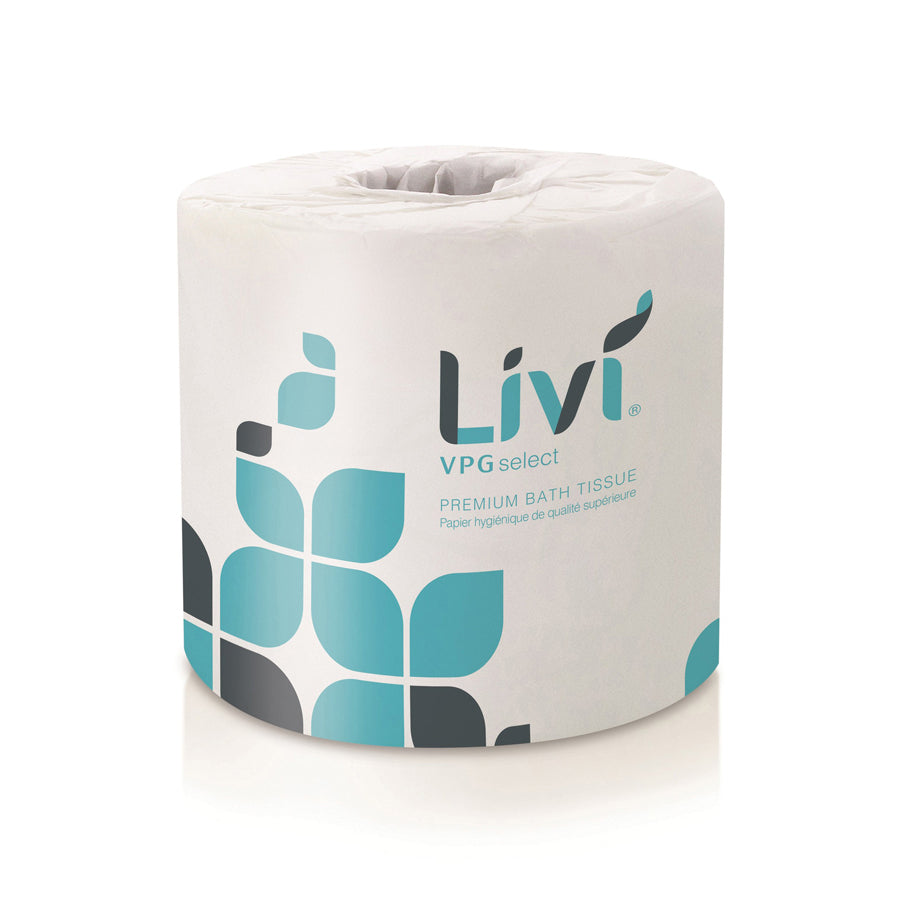 Livi® VPG Premiun Select Toilet Paper - 80rls/case-Lamar Packaging Supplies Inc