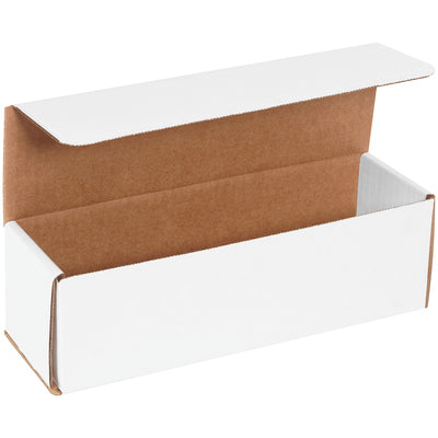 "WHITE - 10"" x 2"" x 2"" - thru - 10"" x 10"" x 2"" Corrugated Mailers - 50/bundle-Lamar Packaging Supplies Inc"