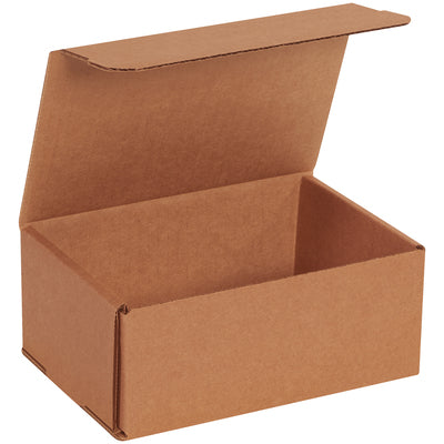 "KRAFT - 6"" x 2"" x 2"" - thru - 7-1/8"" x 5"" x 3"" Corrugated Mailers - 50/bundle-Lamar Packaging Supplies Inc"