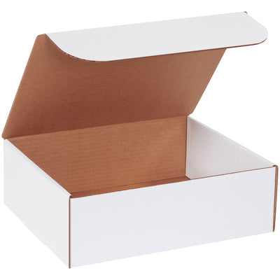 "WHITE - 10-1/4"" x 8-1/4"" x 2"" - thru - 12"" x 12"" x 6""- Literature Mailers - 50/bundle, unless noted-Lamar Packaging Supplies Inc"