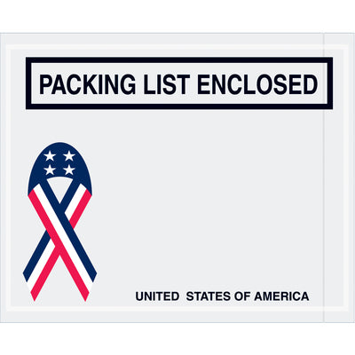 "U.S.A. ""Packing List Enclosed"" Envelopes-USA-Lamar Packaging Supplies Inc"