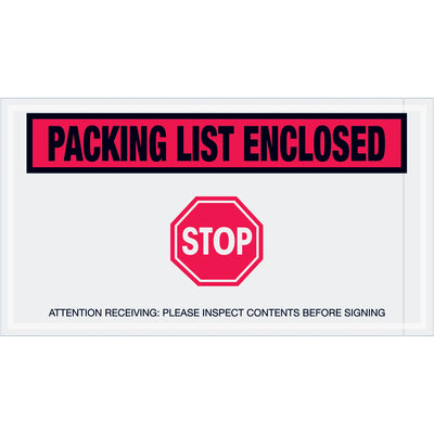 Special Use Envelopes - 1,000 per case-packing list envelope-Lamar Packaging Supplies Inc