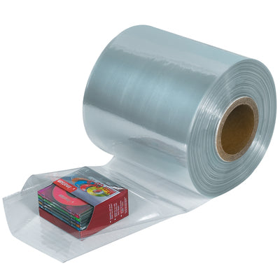 100 Gauge x 1500' Shrink Tubing-Lamar Packaging Supplies Inc