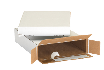 Self-Seal Side Loading Boxes - 25/bdl-Lamar Packaging Supplies Inc