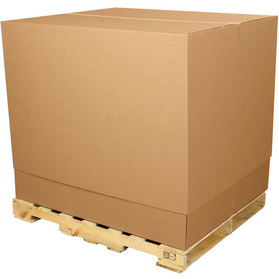 "36 1/2 x 36 1/2 x 40"" Telescoping Outer Boxes-36 1/2 36 1/2 x 40-Lamar Packaging Supplies Inc"