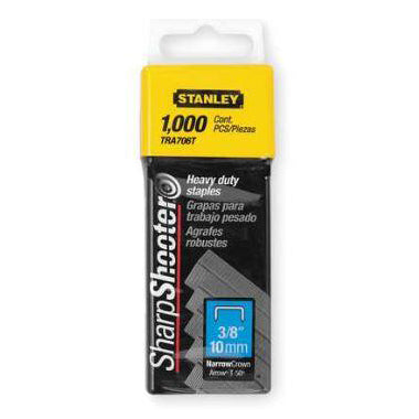 "TRA706T Stanley- Bostitch 3/8"" Staples (1000)-Lamar Packaging Supplies Inc"
