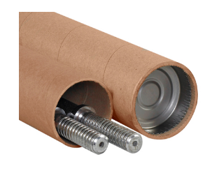 Kraft Adjustable Tubes-Lamar Packaging Supplies Inc