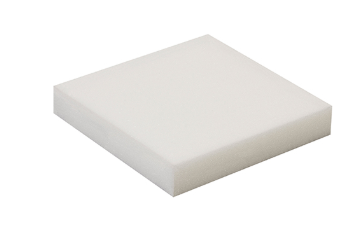 Soft Foam White Sheets