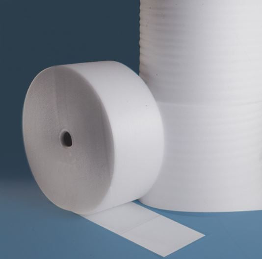 "1/16"" x 1250' Foam Rolls Perf 12"" - Sold in Full Bundles, unless noted-rolls of foam-Lamar Packaging Supplies Inc"