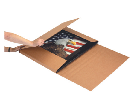 "KRAFT 30"" x 22"" - thru - 48"" x 36"" Multi-Depth Jumbo Mailers 20/bundle-Lamar Packaging Supplies Inc"