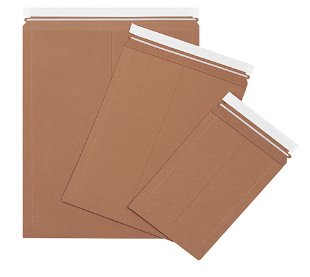 Kraft Utility Flat Mailers-Lamar Packaging Supplies Inc