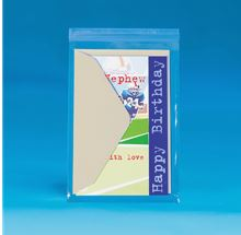 "5"" x 7"" thru 6-1/2"" x 9-1/2"" - 1.5 Mil Resealable Polypropylene Bags High Clarity-ziplock bag-Lamar Packaging Supplies Inc"