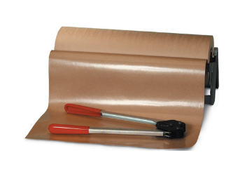 50 lb Poly Coated Kraft Paper-poly coated roll-Lamar Packaging Supplies Inc