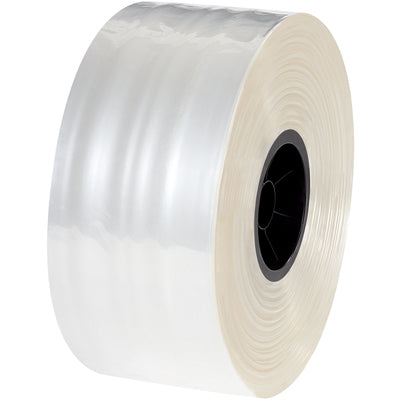 "3"" x 1,000' - 2 Mil Polypropylene Tubing FDA approved-poly tubing-Lamar Packaging Supplies Inc"