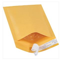 Kraft Self-Seal Bubble Mailers FULL CASE-self seal bubble mailer kraft-Lamar Packaging Supplies Inc