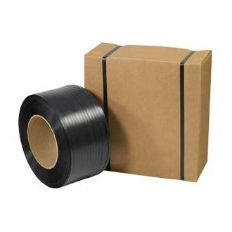 "1/2"" x 300# 8x8 Poly Strapping in Dispenser Carton-Strapping Kit-Lamar Packaging Supplies Inc"