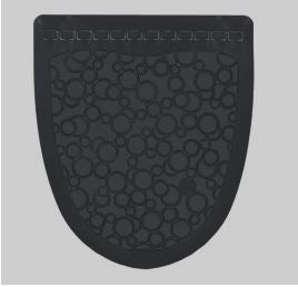 Urinal Mat (Black) for Floor Protection-Lamar Packaging Supplies Inc