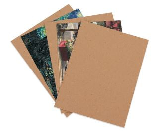 "8 1/2 x 11"" Extra Heavy Duty Chipboard Pads-Lamar Packaging Supplies Inc"