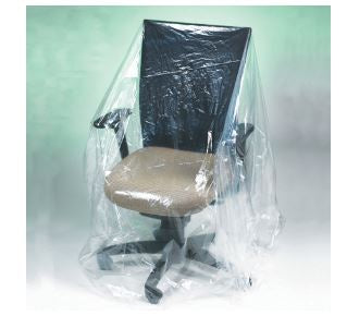 Chair - 1 Mil Furniture Covers-Furniture Covers-Lamar Packaging Supplies Inc