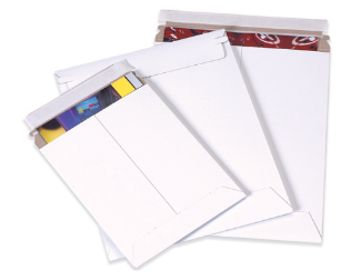 White Self-Seal Flat Mailers FULL CASE-Lamar Packaging Supplies Inc
