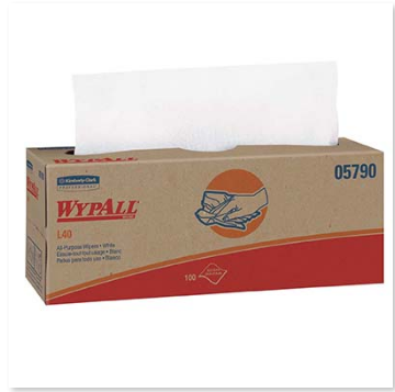 Wypall L40 Towels - 9bxs/case-Lamar Packaging Supplies Inc