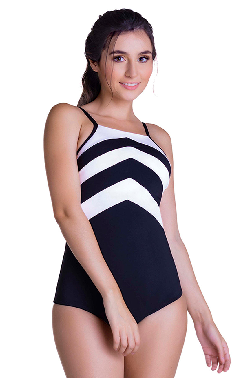 SWIMWEAR BODY MOLDING ONE PIECE BATHING SUIT CHA21925