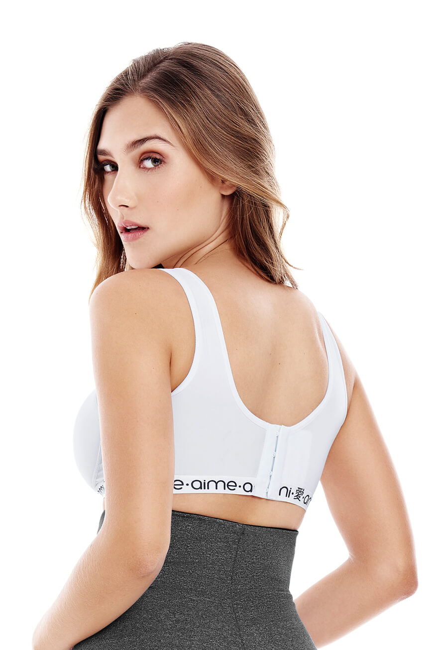 SPORT BRA WITH BACK CLOSURE CHA22930