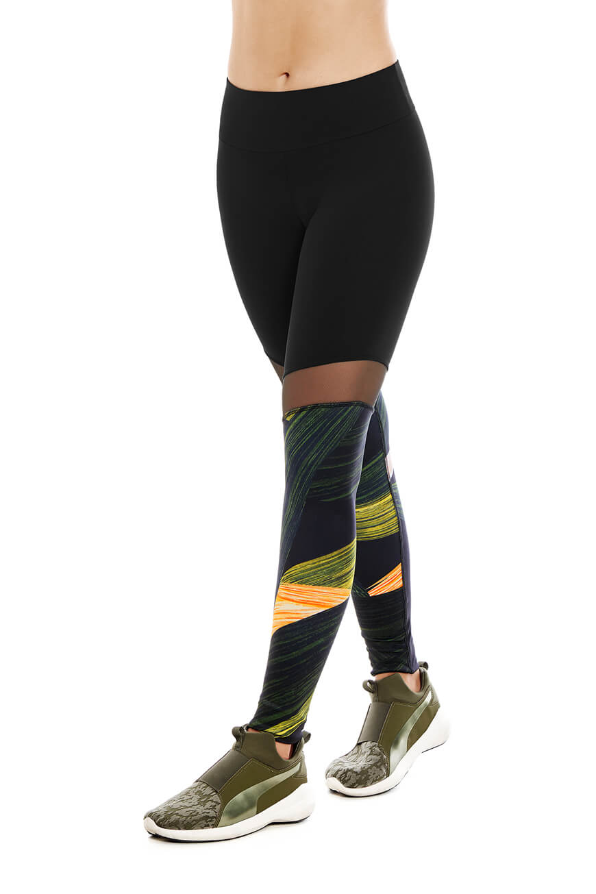 SPORT TIGHTS WITH MESH CHA22959