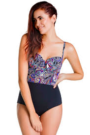 SWIMWEAR BODY MOLDING ONE PIECE BATHING SUIT CHA22625