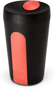 Hip Reusable Coffee Cup (Black & Red)